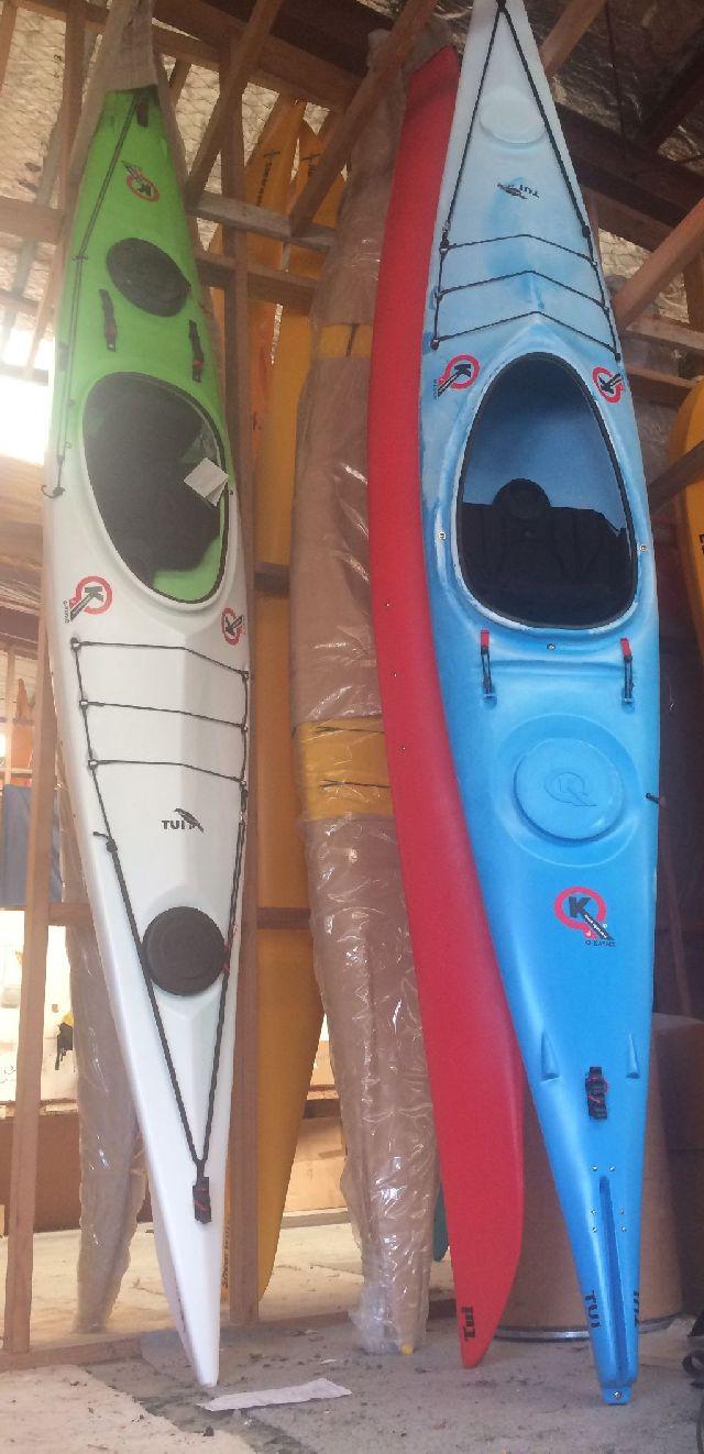 Tui Kayak = Special Colours