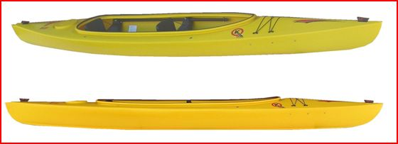 Sprite ll Double Recreation Kayak - Last 2 avaliable in Red & Orange