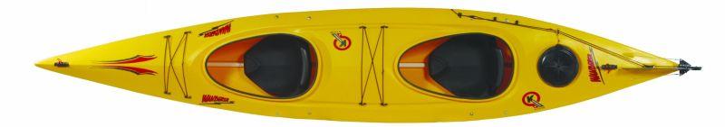 Wanderer Double Recreation Kayak - Last 2 avaliable in Red or Orange